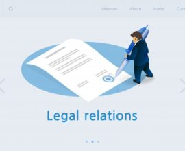 flat banner inscription legal relations isometric 99043 3 - icsid in Finance and Investment Law